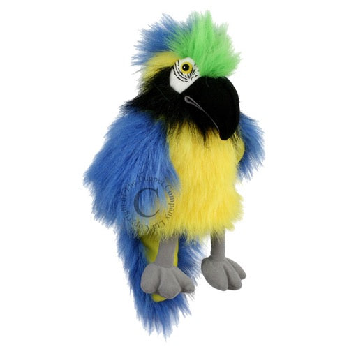 The Puppet Company PC4202 handpop baby vogel Blue & Gold Macaw