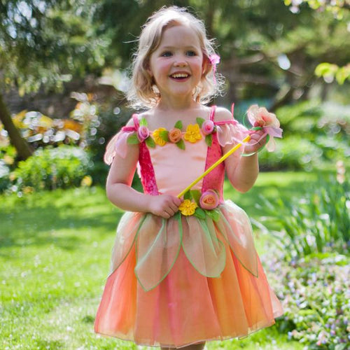 Travis Designs PMF3 Peach Melba Fee, maat 3-5 jaar