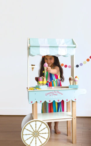 Le Toy Van TV327 Ice Cream Trolley - ijswagen
