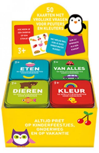 Early Learning spelletjesblik - Dieren
