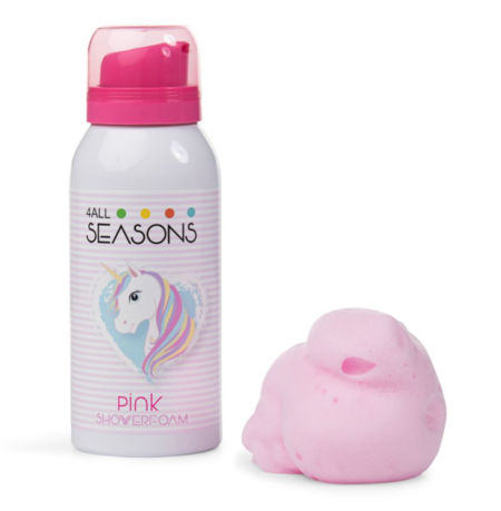 4 All Seasons - Shower foam Pink Unicorn