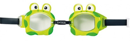 Intex Zwembril Kikker groen