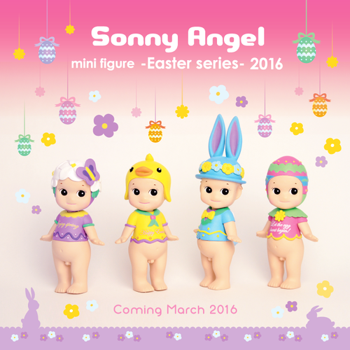 *Sonny Angel Easter - Limited Edition Pasen, per stuk
