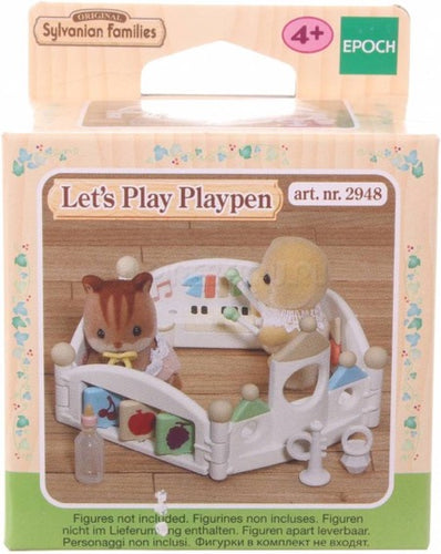 Sylvanian Families 2948 Let's play playpen - baby speelpark