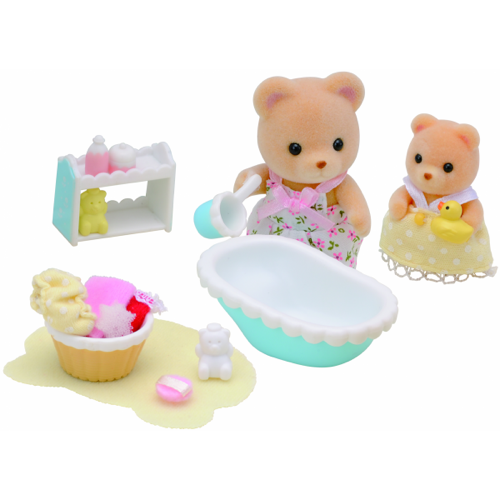 Sylvanian Families Baby bath time - 2228