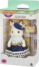 Afbeelding in Gallery-weergave laden, Sylvanian Families Town Series Chocolate Rabbit Stella - 6002