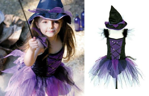 Travis Designs FFW3 Heksenjurk Funky Fairy Witch, maat 3-5 jaar