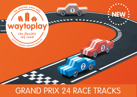 WaytoPlay Toys - Grand Prix - 24 delige set