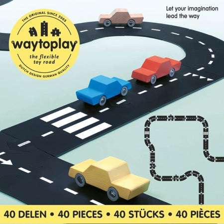 WaytoPlay Toys - King of the Road - 40 delige set