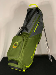 TaylorMade FlexTech Stand Bag in Green and Gray