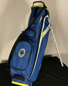 TaylorMade FlexTech Lite Stand Bag in Blue and Lime Green