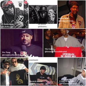 hip-hop celebrities wearing 100 miles brand hoodie