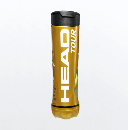 Head Tour tennis balls (4 ball tube)