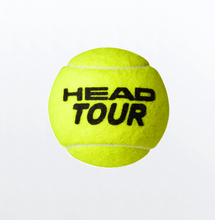 Load image into Gallery viewer, Head Tour tennis balls (4 ball tube)