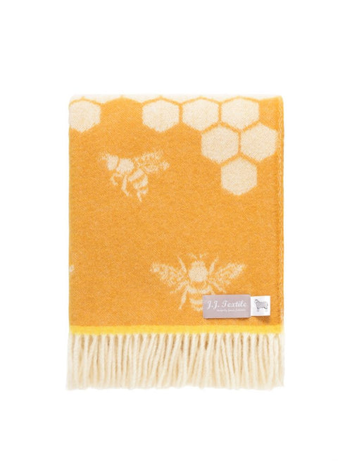 Bee pure wool throw
