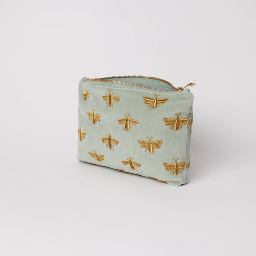 Sage Green bee pouch