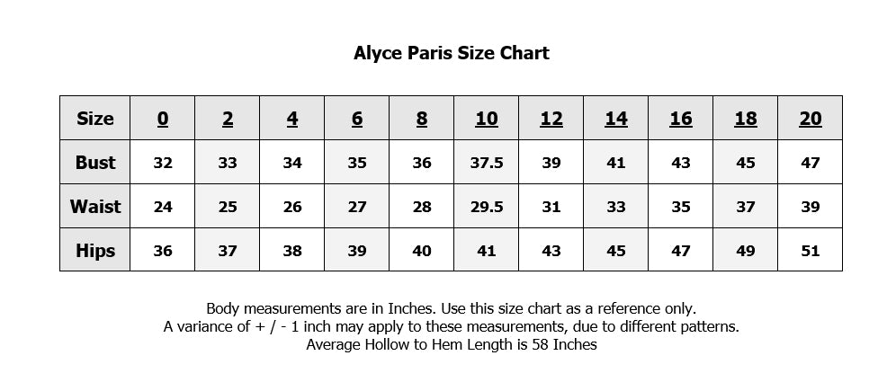 Alyce Paris 1561