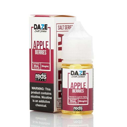 7 Daze Salt Series Vape Juice - Red's Apple Berries