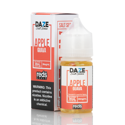 7 Daze Salt Series Vape Juice - Red's Apple Guava