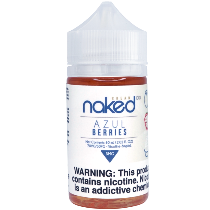 Naked 100 Vape Juice - Azul Berries