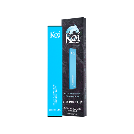 Koi CBD Disposable Vape Pen - Blue Raspberry Dragon Fruit