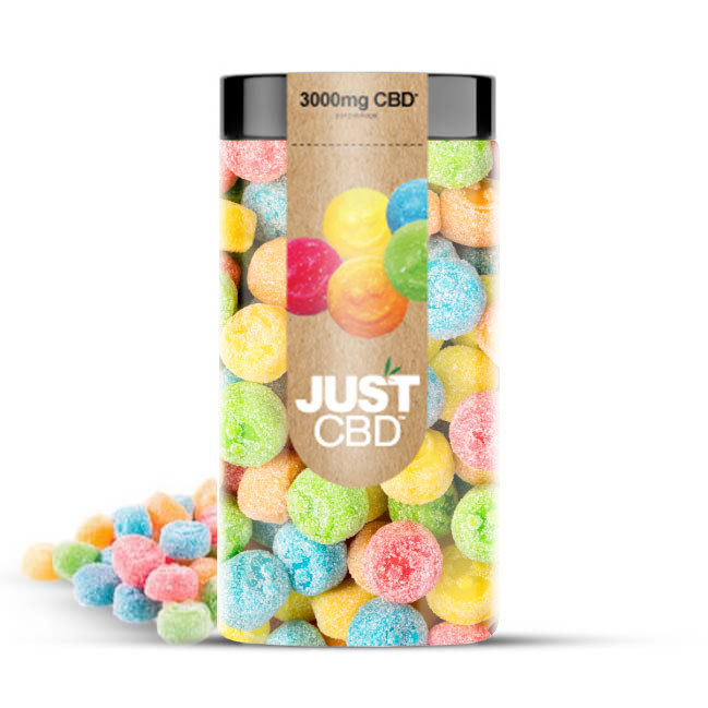 Just CBD 3000mg CBD Gummies - Emoji