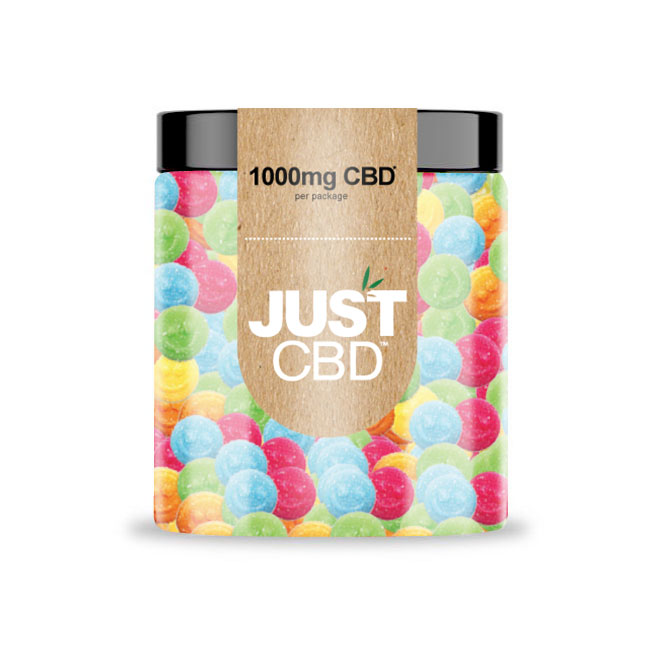 Just CBD 1000mg CBD Gummies - Emoji