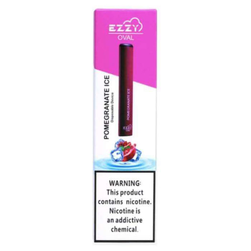Ezzy Oval Disposable Vape Pen - Pomegranate Ice