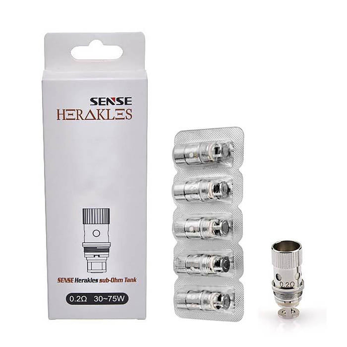 Sense Herakles Sub-Ohm Tank Temp Control Replacement Coil (5 Pack)