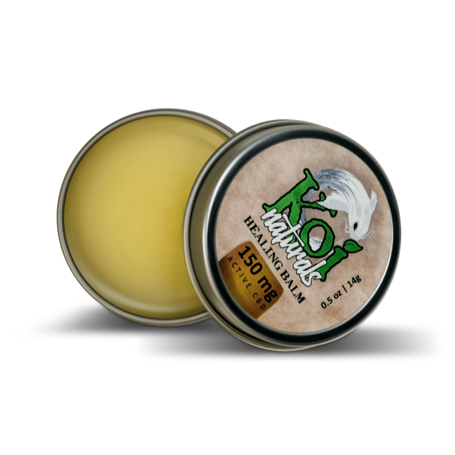Koi Naturals Hemp Extract CBD Balm - Travel Size (150mg)