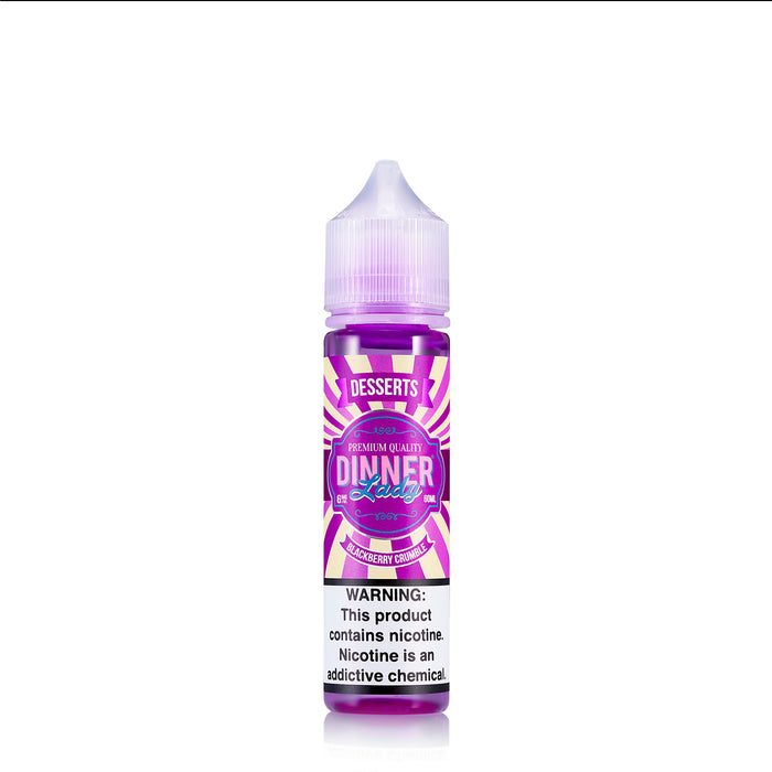 Dinner Lady Vape Juice - Blackberry Crumble