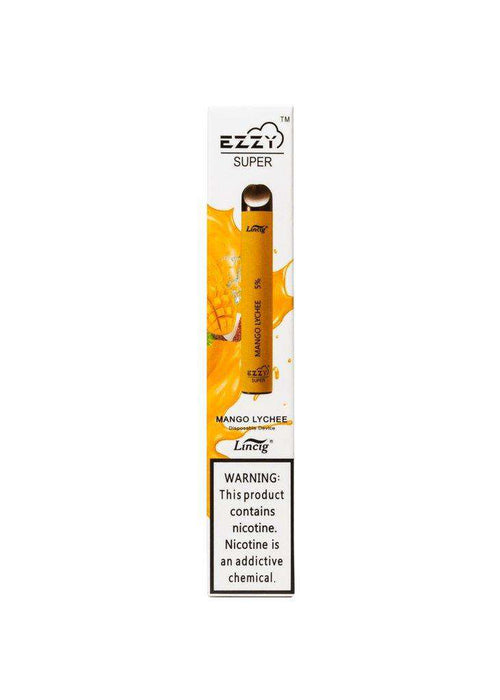 Ezzy Super Disposable Vape Pen - Mango Lychee