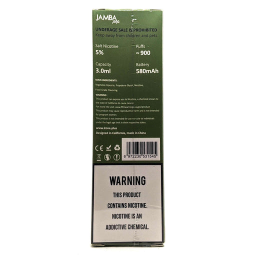 Jamba Pop Disposable Vape Pen - Strawberry Guava Surfrider