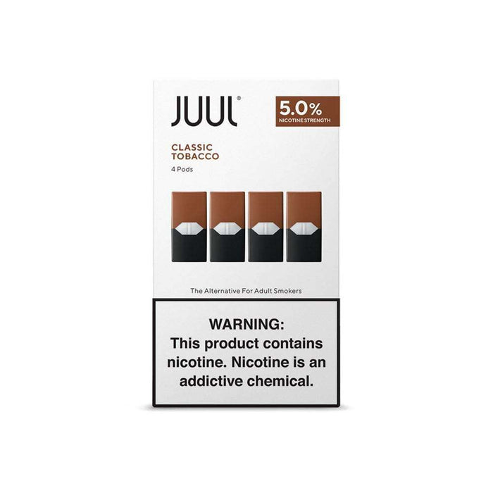 JUUL Pre-Filled Pods - Classic Tobacco (4 Pack)
