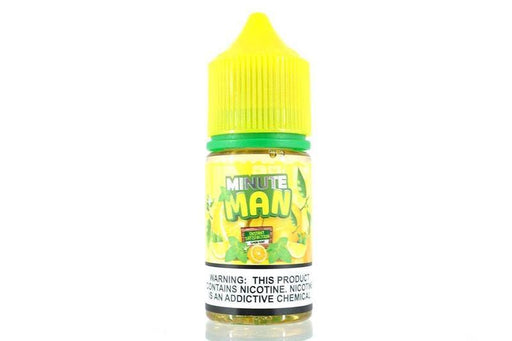 Minute Man Salt Nic Vape Juice - Lemon Mint