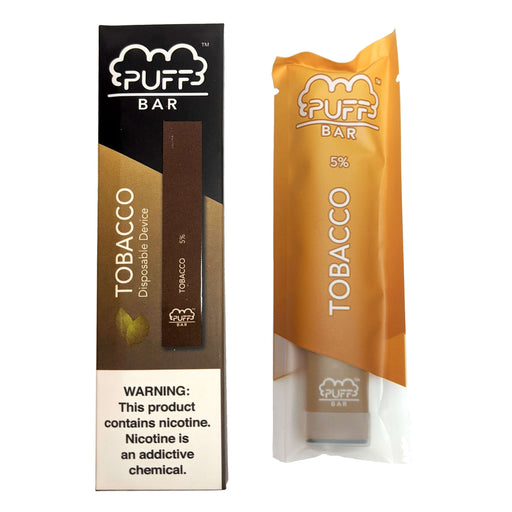 Puff Bar Disposable Vape Bars - Tobacco