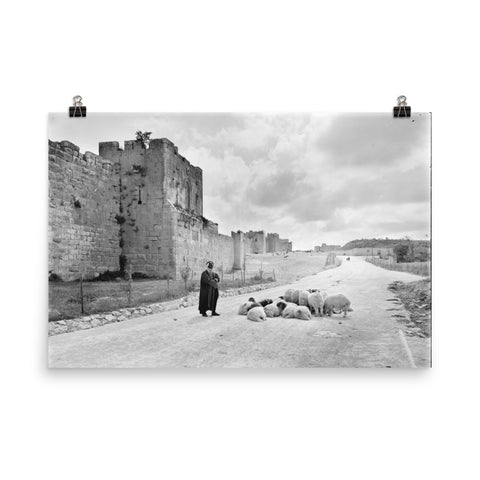 Old City of Jerusalem | Walls of Jerusalem Poster