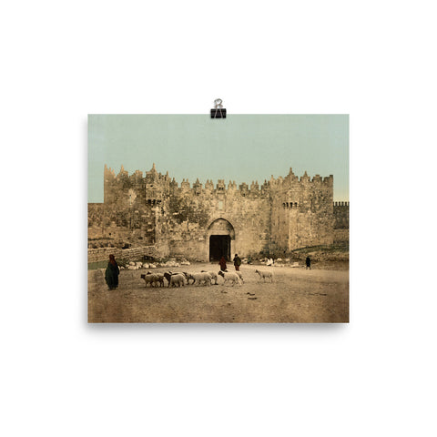 Jerusalem | Damascus Gate (4 different sizes available!)