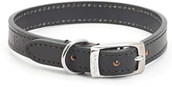 Ancol Black Leather Collar (Size 4)