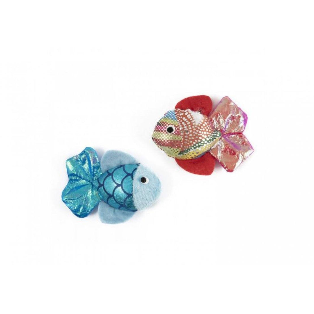Ancol Glitter Fish Cat Toy