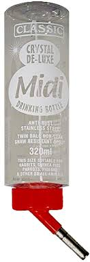 Classic 'Midi' Crystal Deluxe Bottle, 320ml