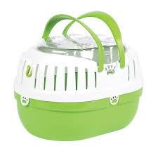Happy Pet Small Animal Carrier Green Small
