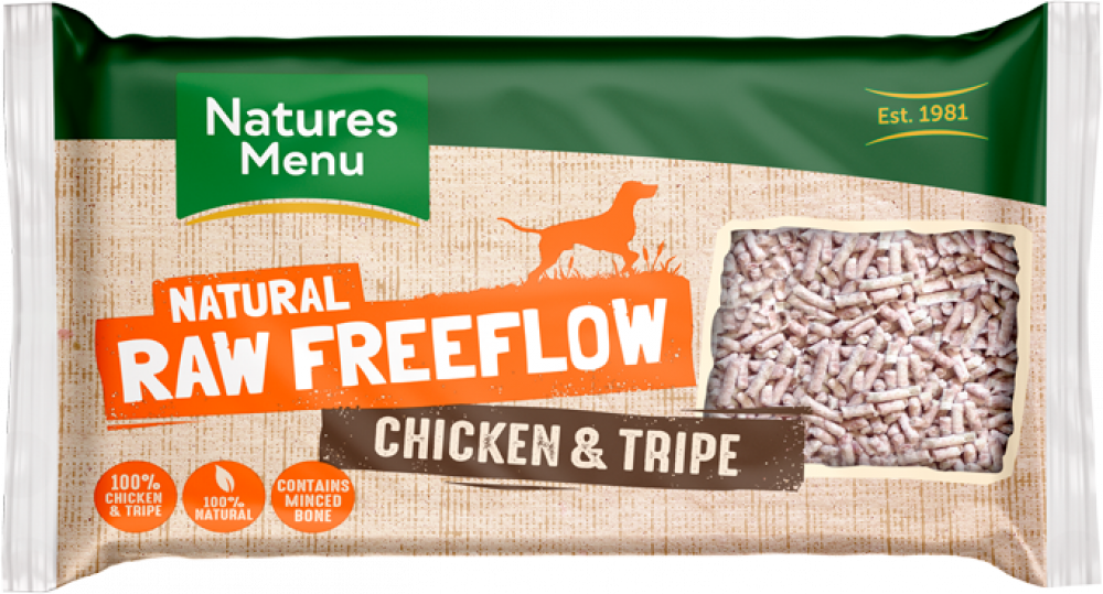 Natures Menu Freeflow Chicken and Tripe