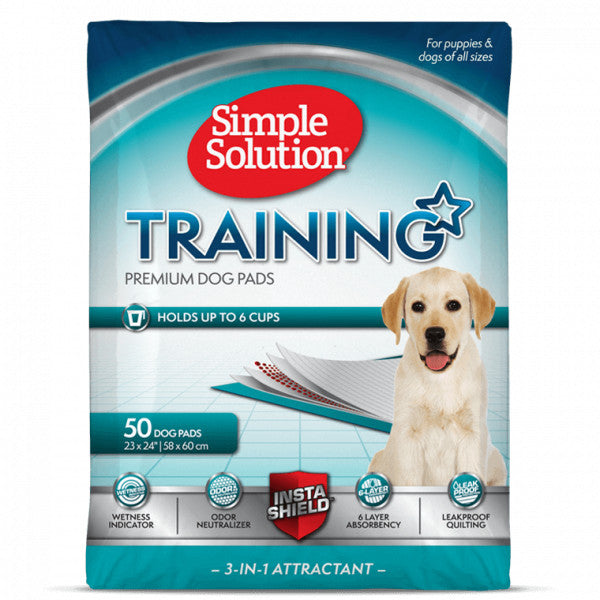 Simple Solution Puppy Training Pads, 56pads