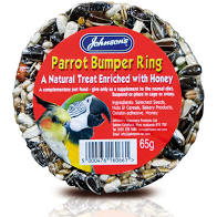 Johnson's Parrot Bumper Ring Treat