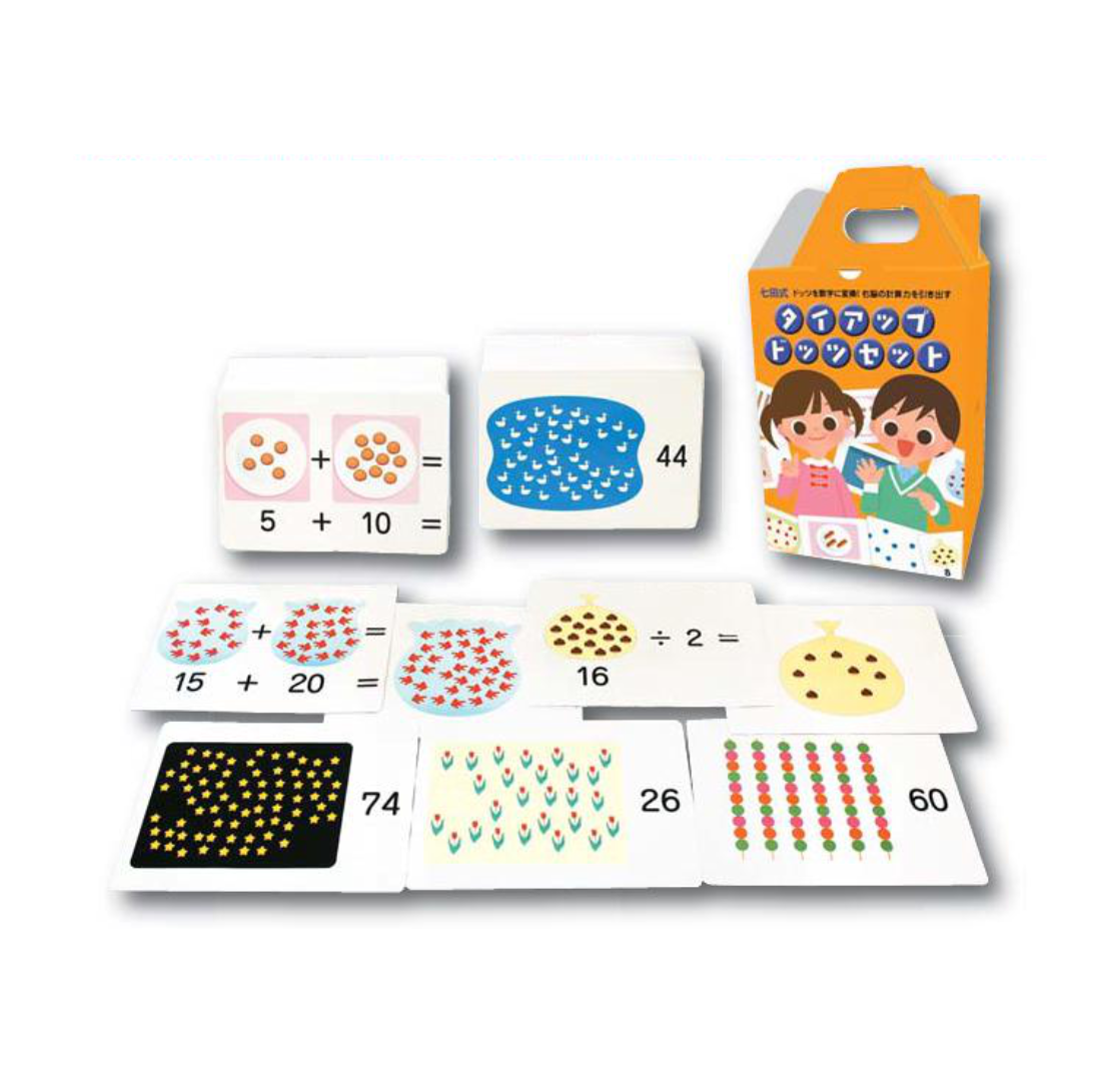 Shichida Method Tie-Up Dots Set