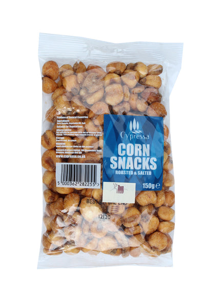 Cypressa Roasted And Salted Corn Snacks - 150g