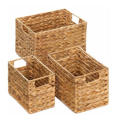 Hyacinth Basket Set