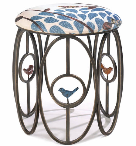 Bird Deco Stool