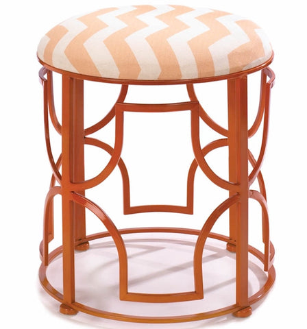 Chevron Deco Stool